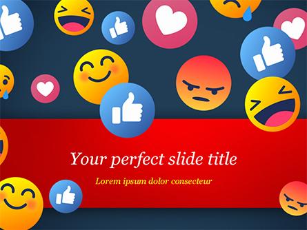 Smiley Background Presentation Template, Master Slide
