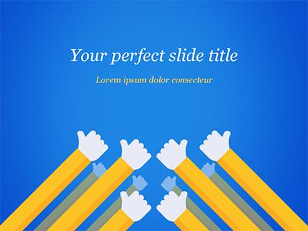 Congratulations Concept Presentation Template, Master Slide