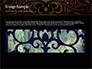 Luxury Vintage Background slide 10