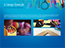 School Supplies on Blue Background slide 12