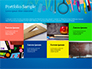 School Supplies on Blue Background slide 17
