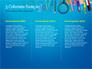 School Supplies on Blue Background slide 6