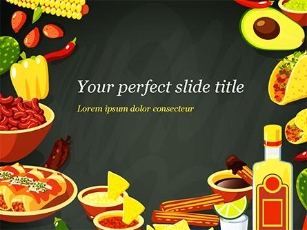 Mexican Food Presentation Template, Master Slide