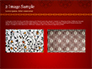 Burgundy Background with Oriental Mandala Pattern slide 11