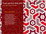 Burgundy Background with Oriental Mandala Pattern slide 9