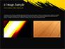 Yellow Brushstroke on Black Background slide 11