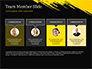 Yellow Brushstroke on Black Background slide 18