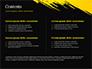 Yellow Brushstroke on Black Background slide 2