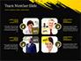 Yellow Brushstroke on Black Background slide 20