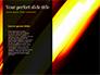 Yellow Brushstroke on Black Background slide 9