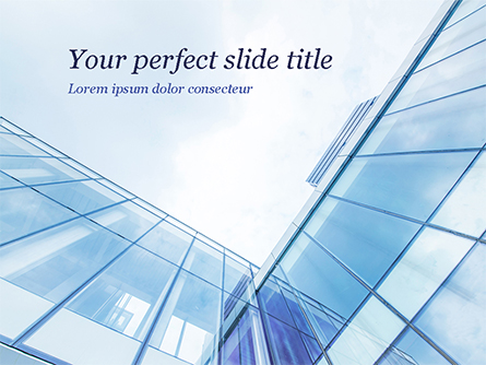Corporate Construction Presentation Template, Master Slide