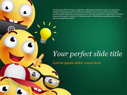 Emojis Presentation Template, Master Slide