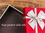 Open Red Gift Box slide 1