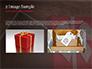 Open Red Gift Box slide 11
