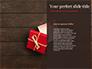 Open Red Gift Box slide 9