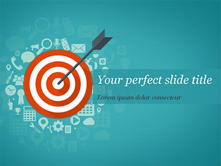 Targeting Concept Presentation Template, Master Slide