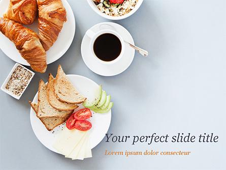 Ideal Breakfast Presentation Template, Master Slide