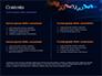 Candlestick Chart on Blue Background slide 2