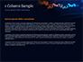 Candlestick Chart on Blue Background slide 4