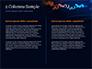Candlestick Chart on Blue Background slide 5
