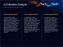 Candlestick Chart on Blue Background slide 6