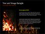 Flame slide 15