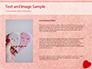 Heart on Pink Background slide 15