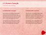 Heart on Pink Background slide 5