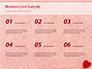 Heart on Pink Background slide 8