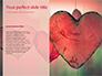 Heart on Pink Background slide 9