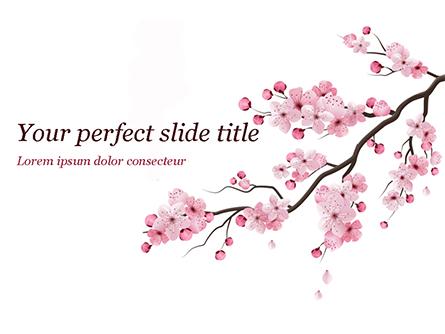 Sakura Presentation Template, Master Slide