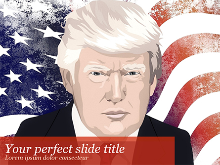Trump Presentation Template, Master Slide