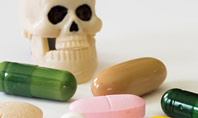 Pills and Skull Presentation Template