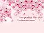 Delicate Sakura Flowers slide 1