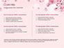 Delicate Sakura Flowers slide 2