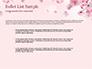 Delicate Sakura Flowers slide 7