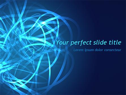 Tangled Data Presentation Template, Master Slide