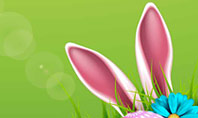 Cute Easter Background Presentation Template