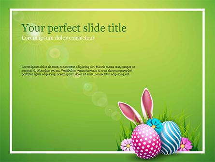Cute Easter Background Presentation Template, Master Slide