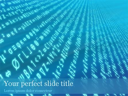 Encryption Presentation Template, Master Slide