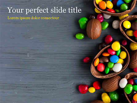 Easter Sweets Presentation Template, Master Slide