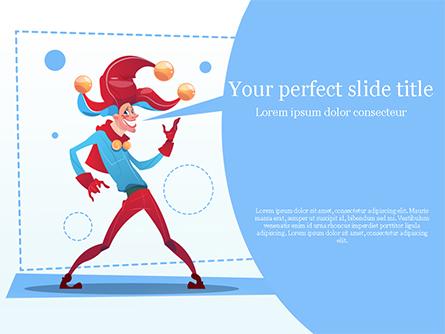 Jester Presentation Template, Master Slide