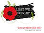 Anzac Day Background slide 1