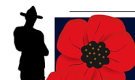 Background for Anzac Day Presentation Template