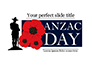 Background for Anzac Day slide 1