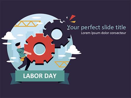 International Workers' Day Presentation Template, Master Slide