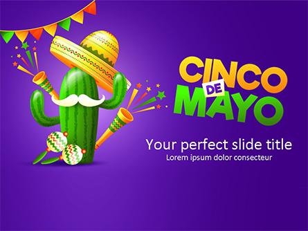Holiday Cinco de Mayo Presentation Template, Master Slide