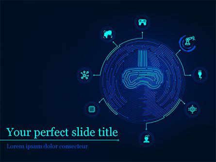 Virtual Reality Concept Presentation Template, Master Slide