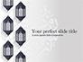 Ramadan Kareem Background with Lanterns slide 1