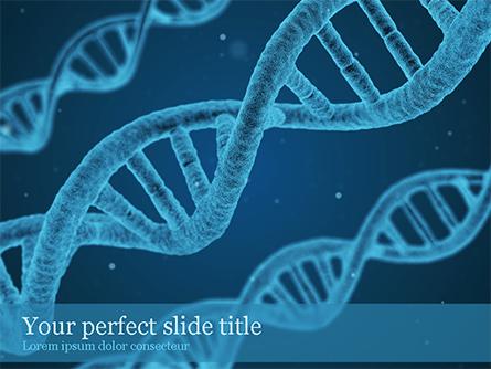 DNA Synthesis Presentation Template, Master Slide